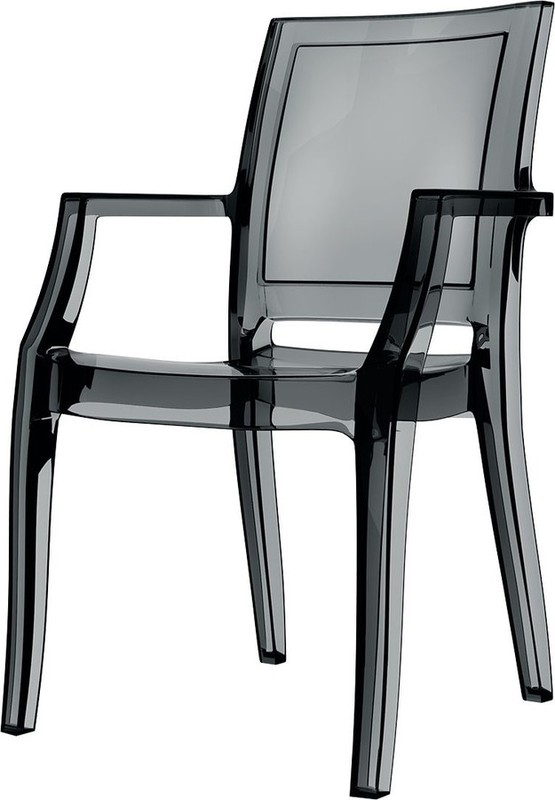 Dining Agedcare Arthur Chair, Black Transparent
