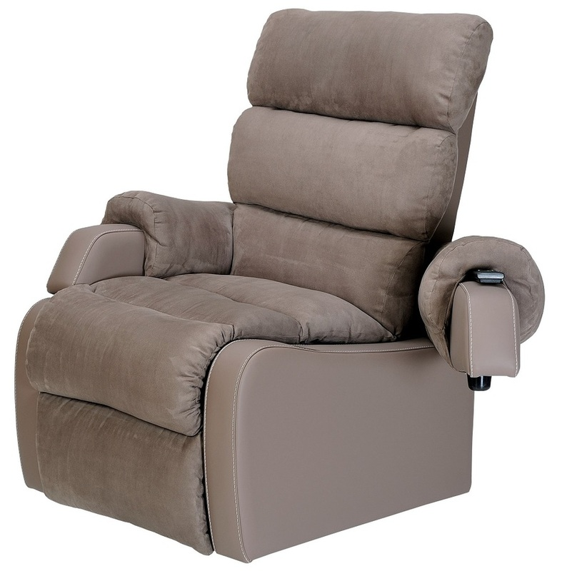 Agedcare and Retirement Patient Cocoon Lift Recliner Chair, with moveable arm