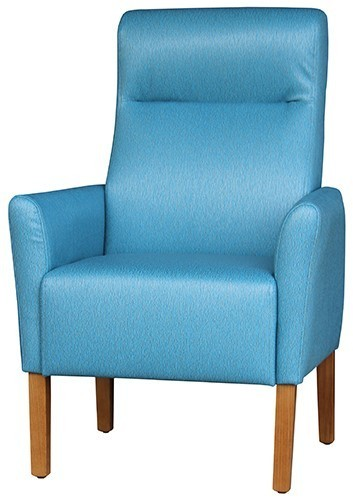 Single Lounge Agedcare Mayfair Highback Chair