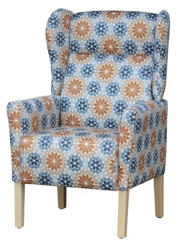 Aged Care Lounge Mayfair Wingback Chair angled view