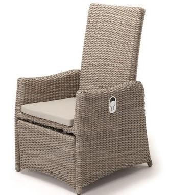 Retirement Outdoor Vienna Reclining Armchair