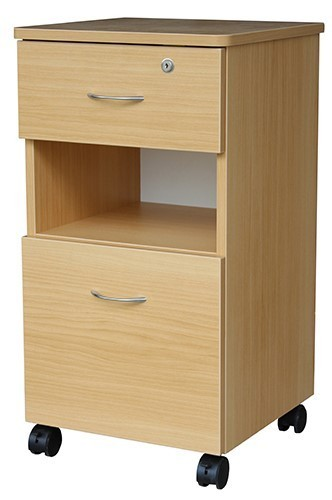 Aged Care Bedroom Denby 2 Drawer Bedside