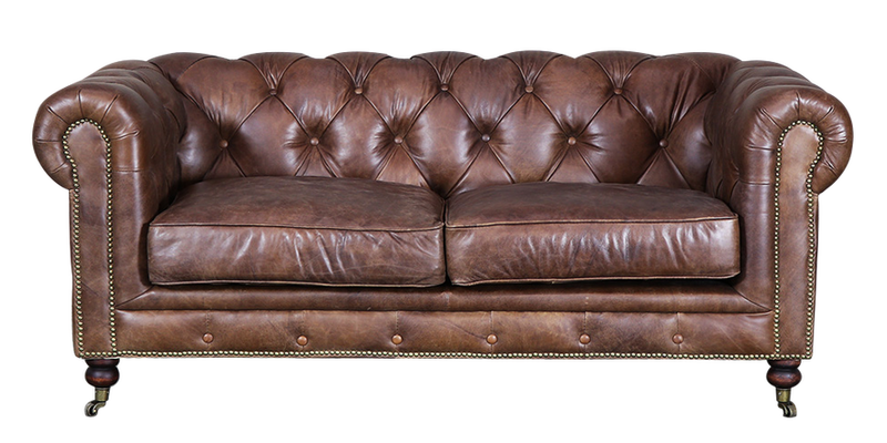 Lounge Retirement Chesterfield Sofa 2 Seater