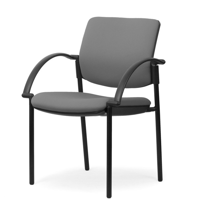 Aged Care Office Vision Arm Chair in Breathe Alloy