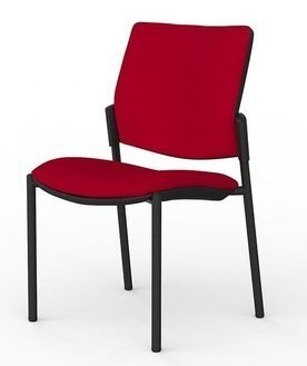 Aged Care Activities Vision Chair in red