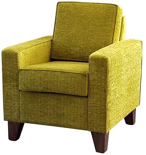 Lounge Retirement Eclipse Chair citron fabric