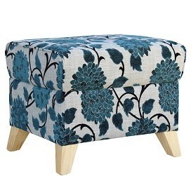 Retirement Occasional Zara Footstool angled View