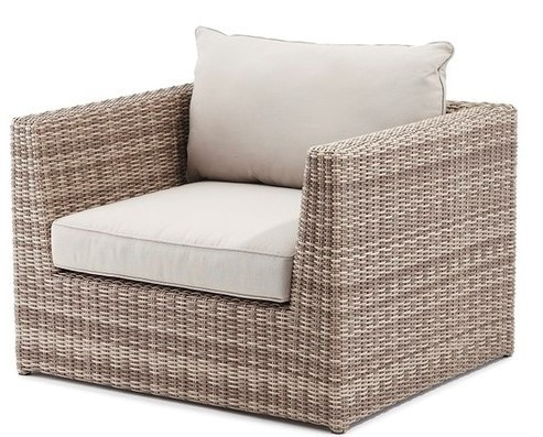Retirement Outdoor Delmar Modular Arm Chair