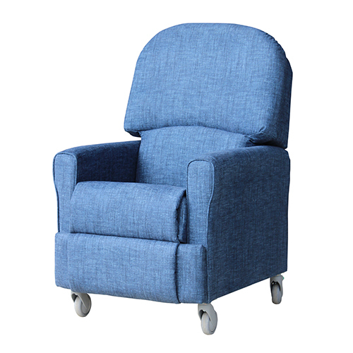 Agedcare and Retirement Patient Chair Steen Recliner blue