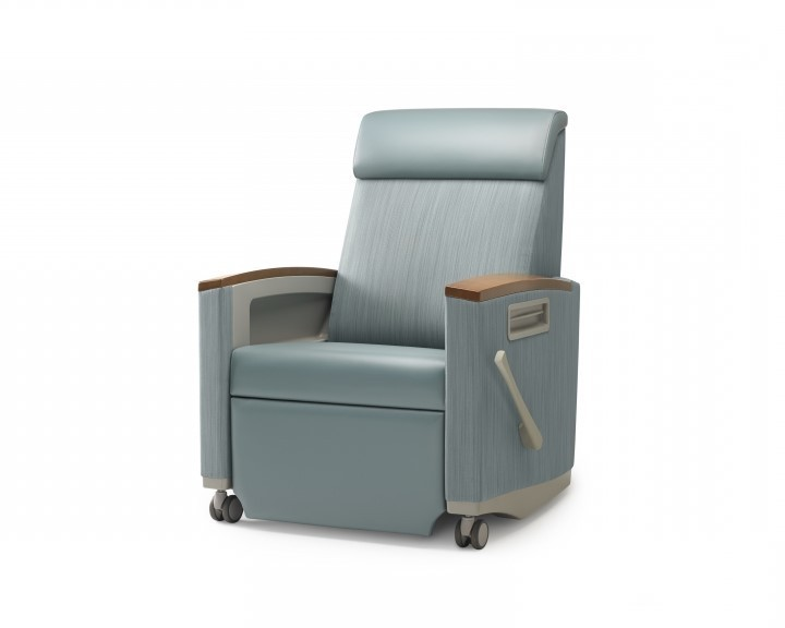Seating Agedcare Herman Miller Consoul Recliner, side view