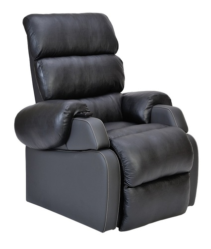 Agedcare and Retirement Patient Cocoon Lift Recliner Chair, black licorice