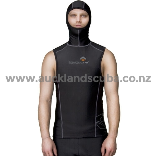 Hooded Vest Mens