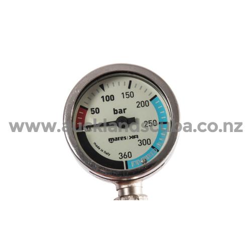 Mares XR 56cm Pressure Gauge