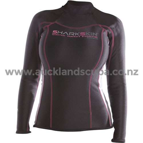 Womens Sharkskin Long Sleeve Chillproof