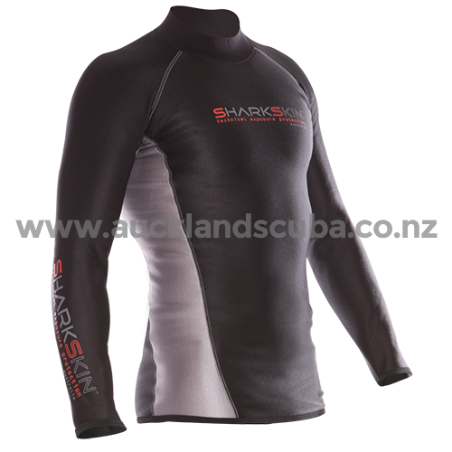 Mens Sharkskin Long Sleeve Chillproof