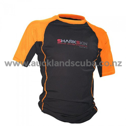 Orange Rapid Dry Short Sleeve