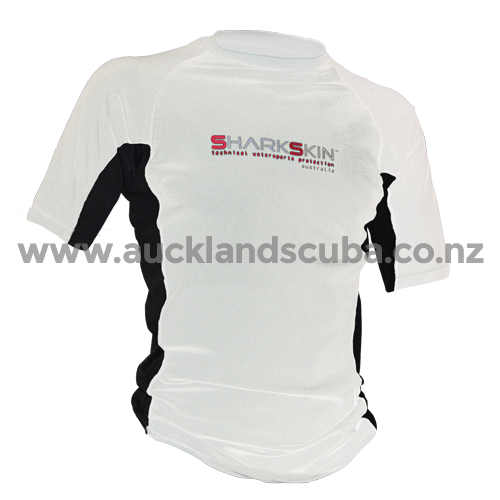 White Rapid Dry Short Sleeve