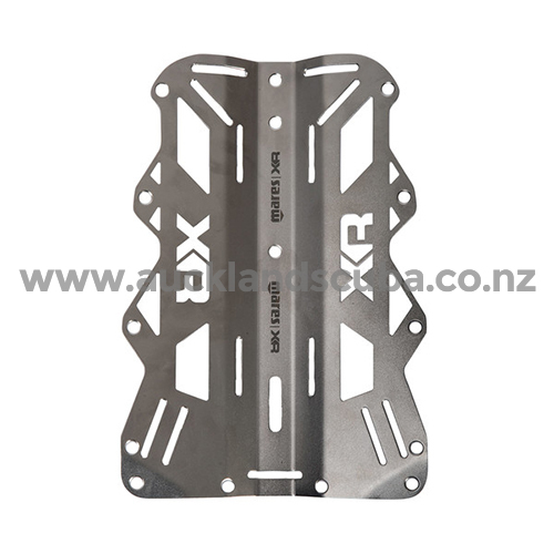 Backplate Stainless Steel 6mm