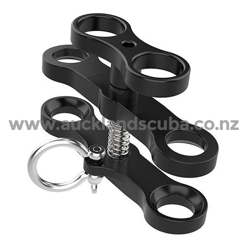 Two - Hole Butterfly Clip with Shackle