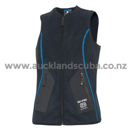 Bare SB System Mid Layer Vest Womens