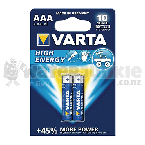 'AAA' Two Pack Alkaline Batteries