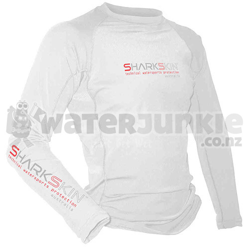 White RAPID DRY LONG SLEEVE