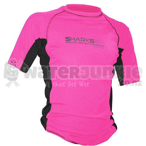 Pink Rapid Dry Short Sleeve
