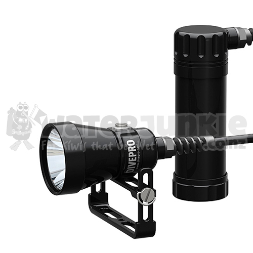 DivePro 4200lm Primary Canister Light (Side Mount Cable)