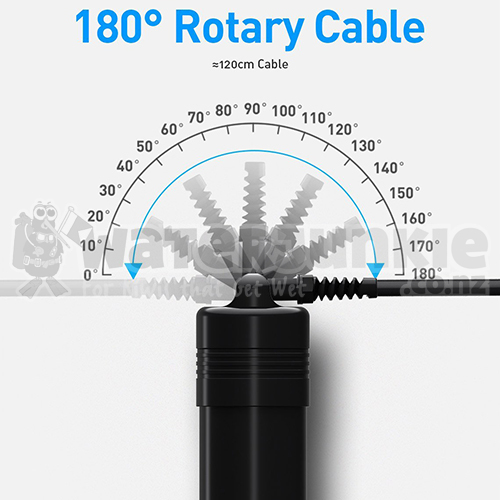4200lm Primary Canister Light (180° Movable Cable)