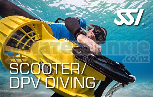 Scooter/DPV Diver