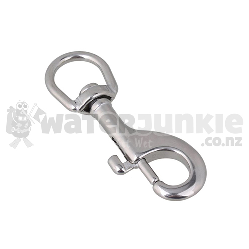 Hollis 316 Stainless Steel Swivel Bolt Snap - 100mm (3.5