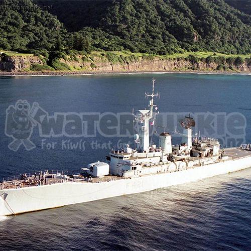 HMNZS Canterbury Wreck