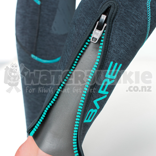 Bare 7mm Evoke Full Wetsuit Aqua