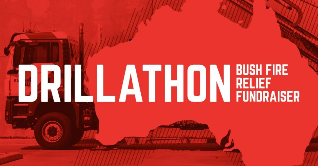 Ranger Drillathon for Bushfires