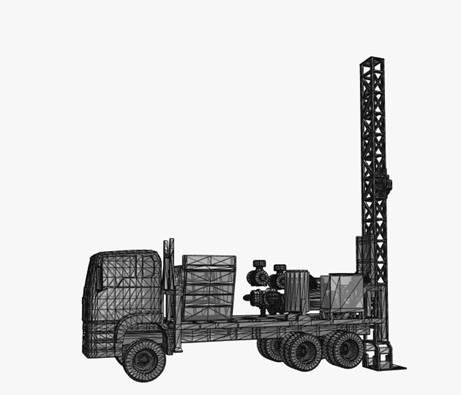 3D vision of drill rig - Ranger Drilling