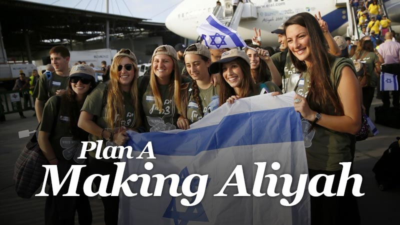 Plan A - Making Aliyah