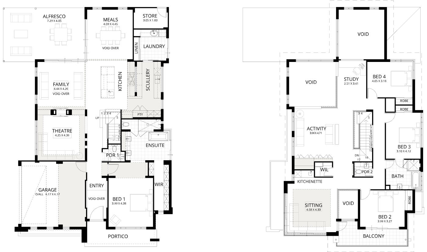 Floorplan for Aria 480