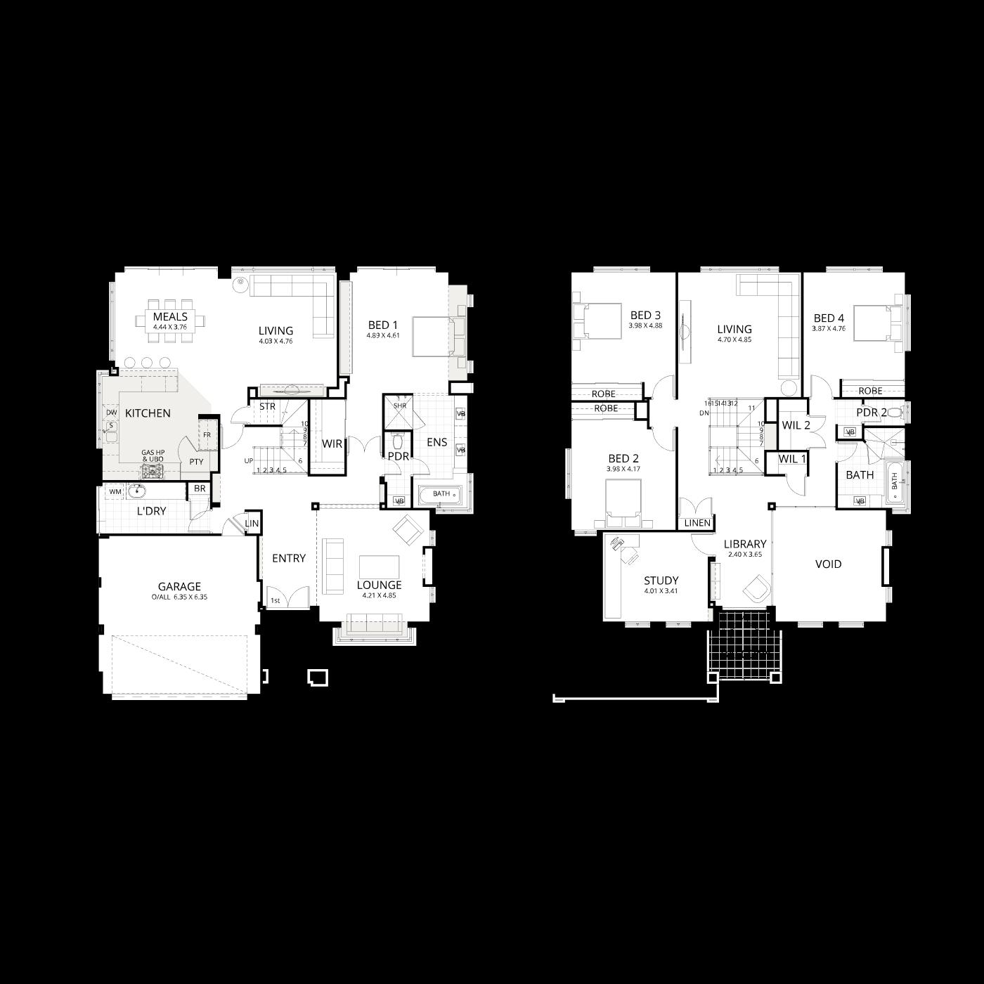 Floorplan for Toorak