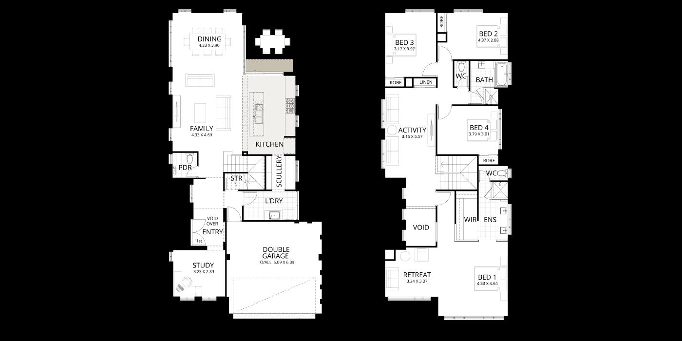 Floorplan for Coastal