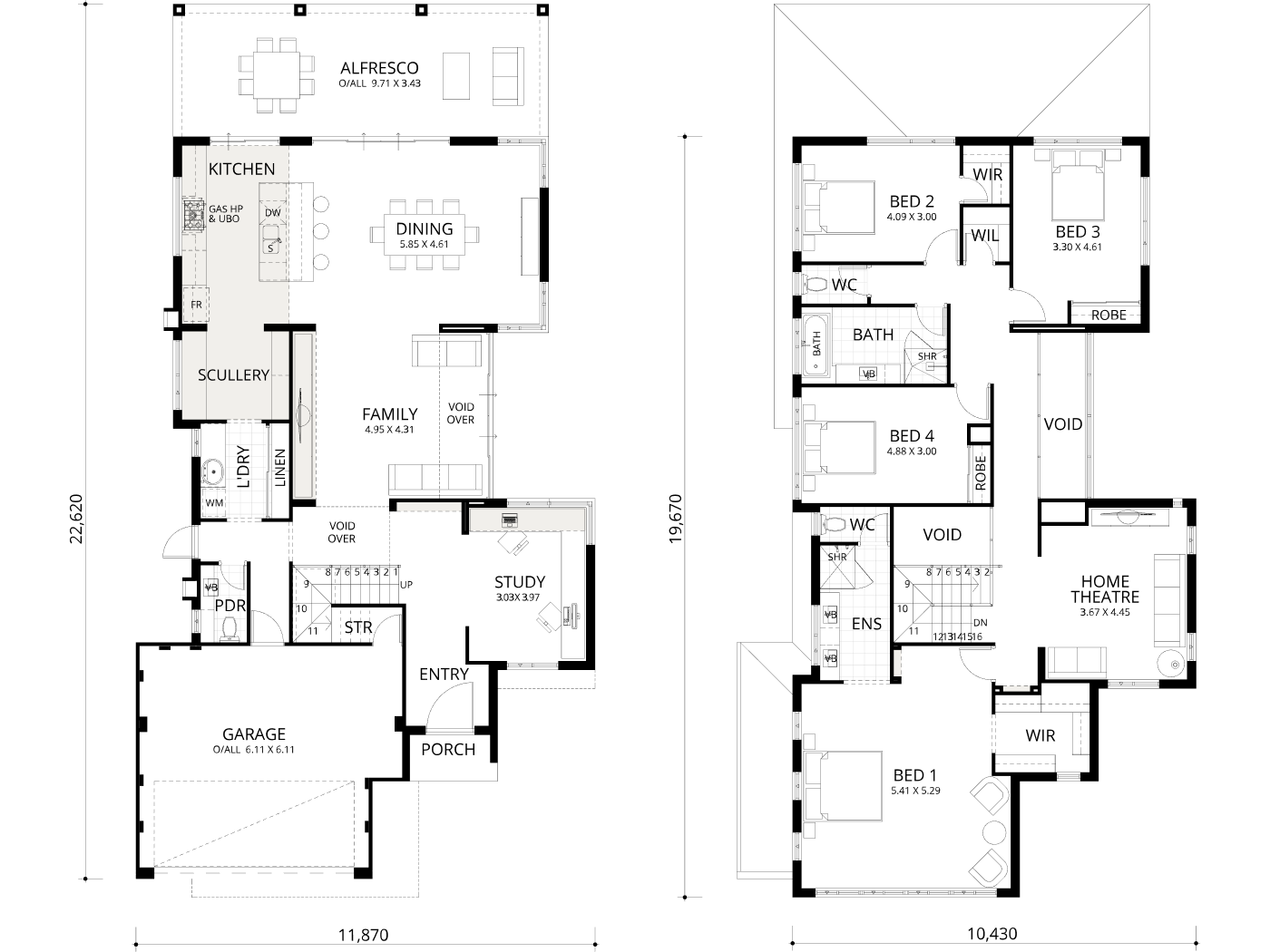 Floorplan for Beech