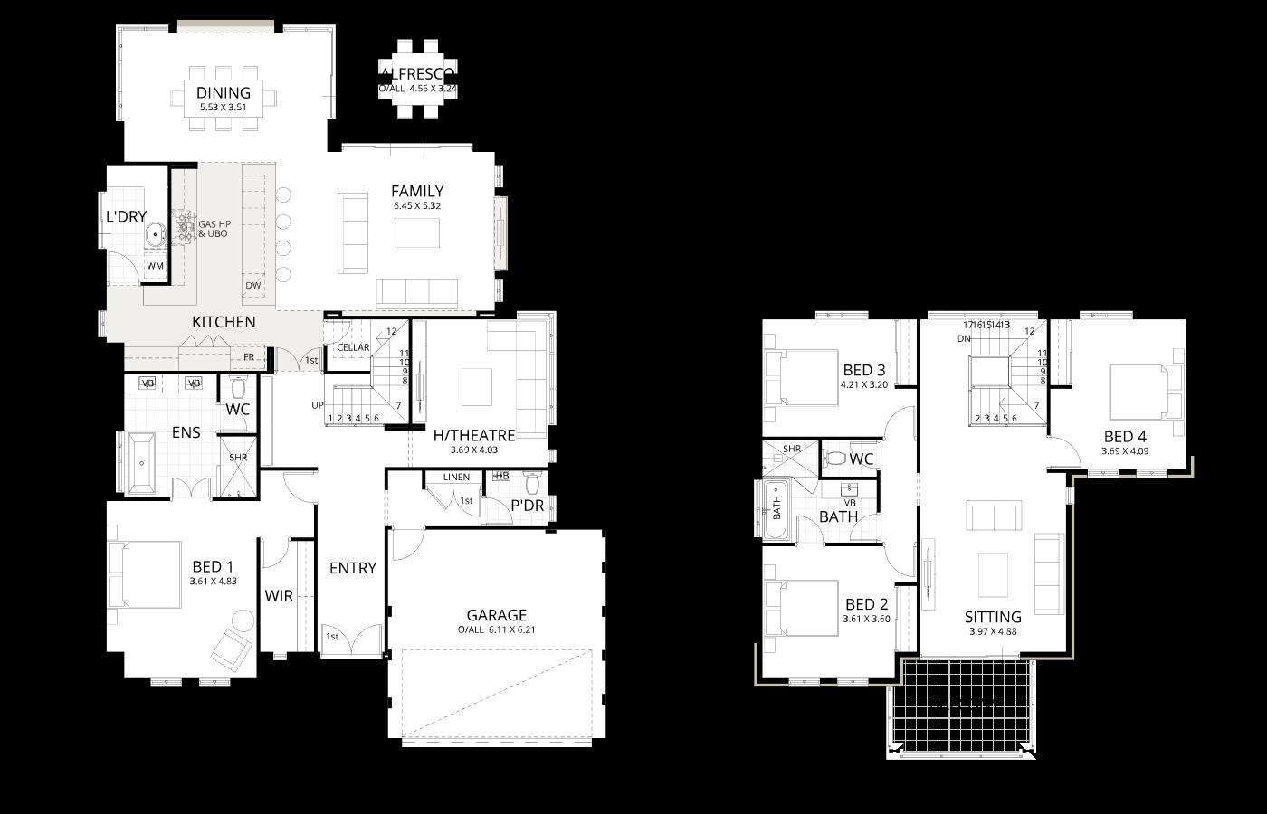 Floorplan for Broadwater