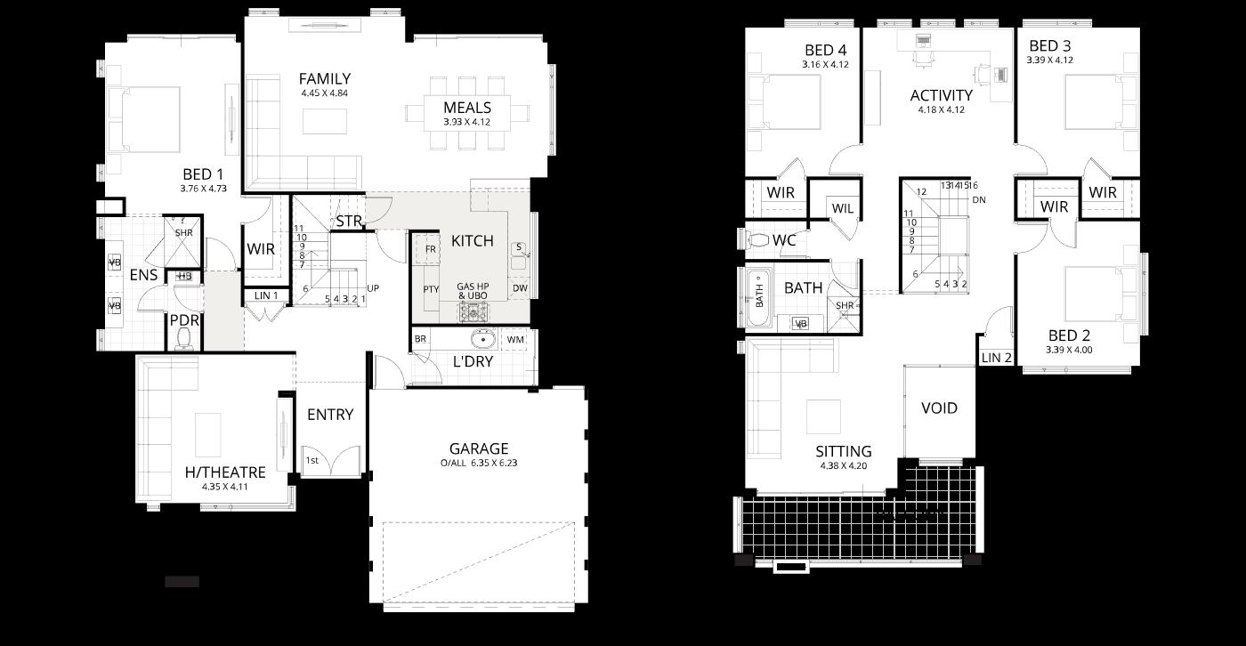 Floorplan for Dynasty 14