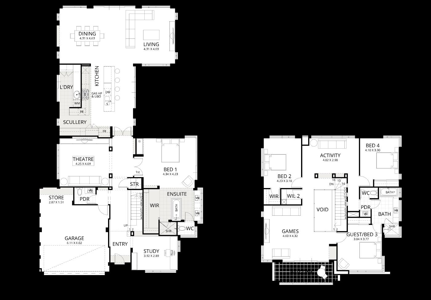 Floorplan for Mariner