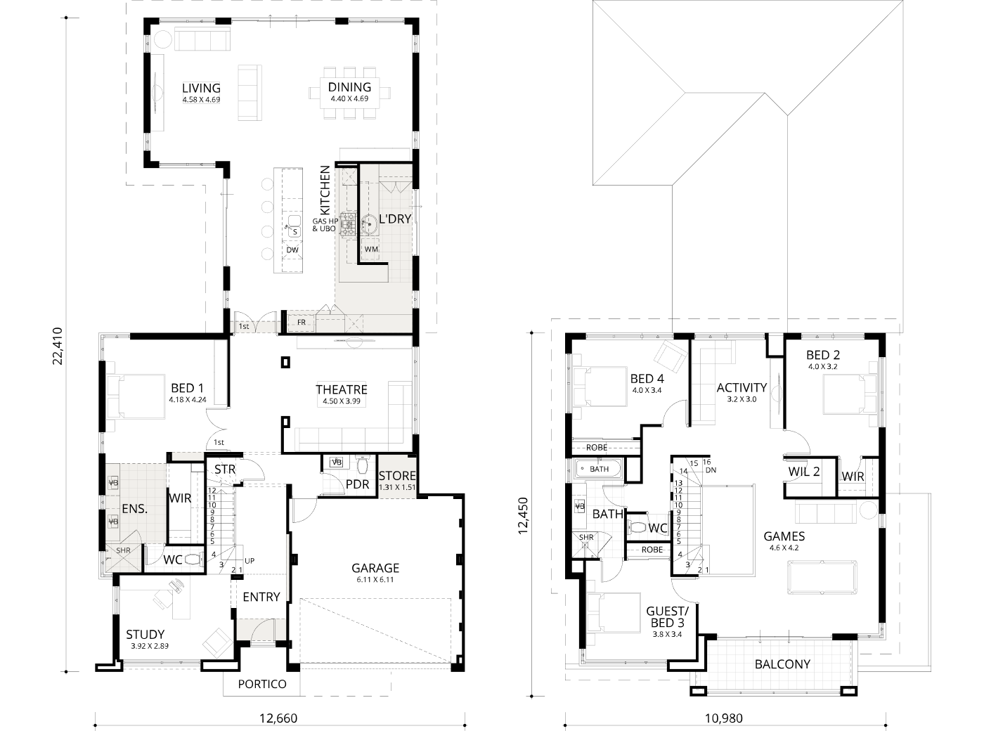 Floorplan for Nautilus