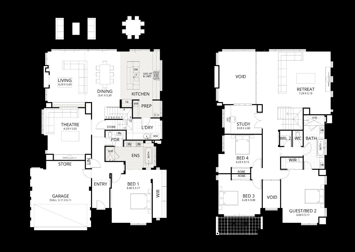 Floorplan for View