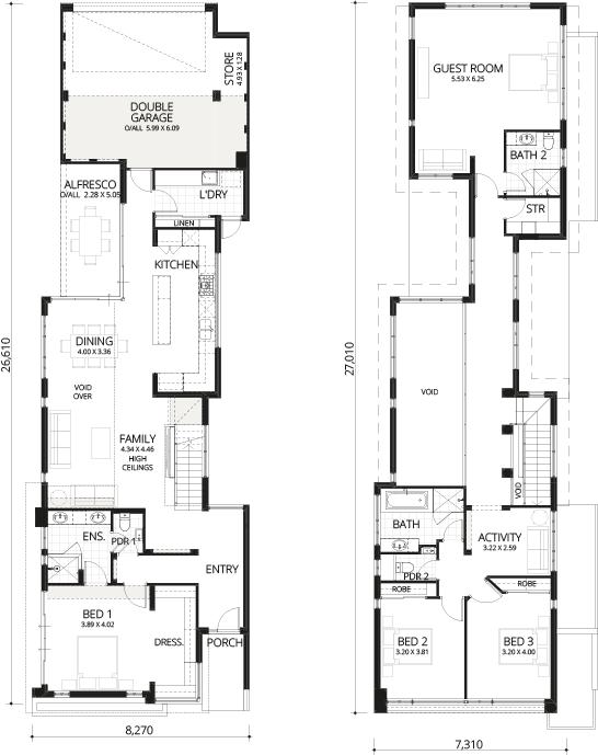 Floorplan for West End