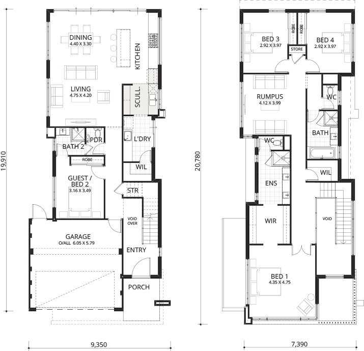 Floorplan for Palmview