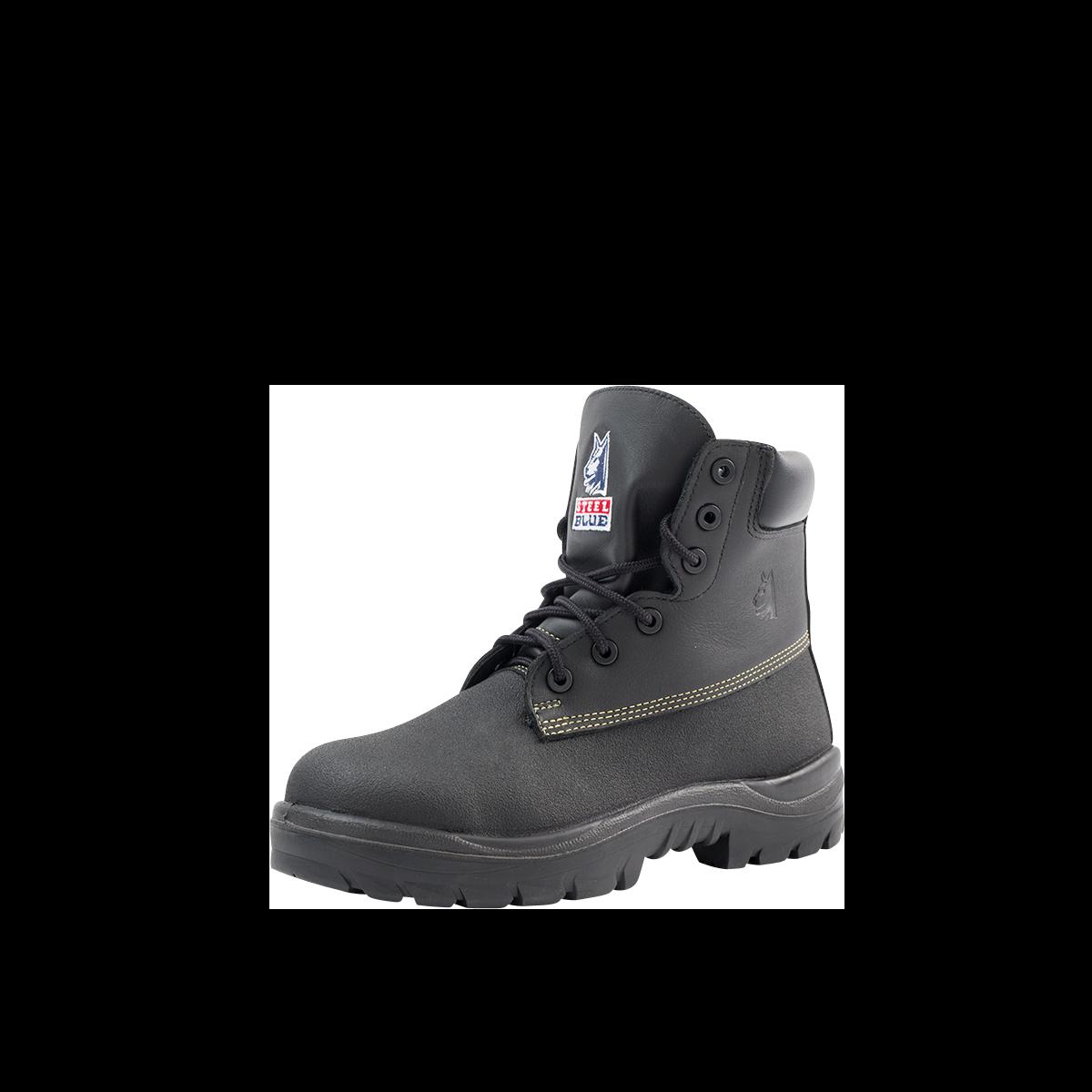 baf6a11e480 Warragul Men's Galosh Style Work Boot with Steel Toe from Steel Blue