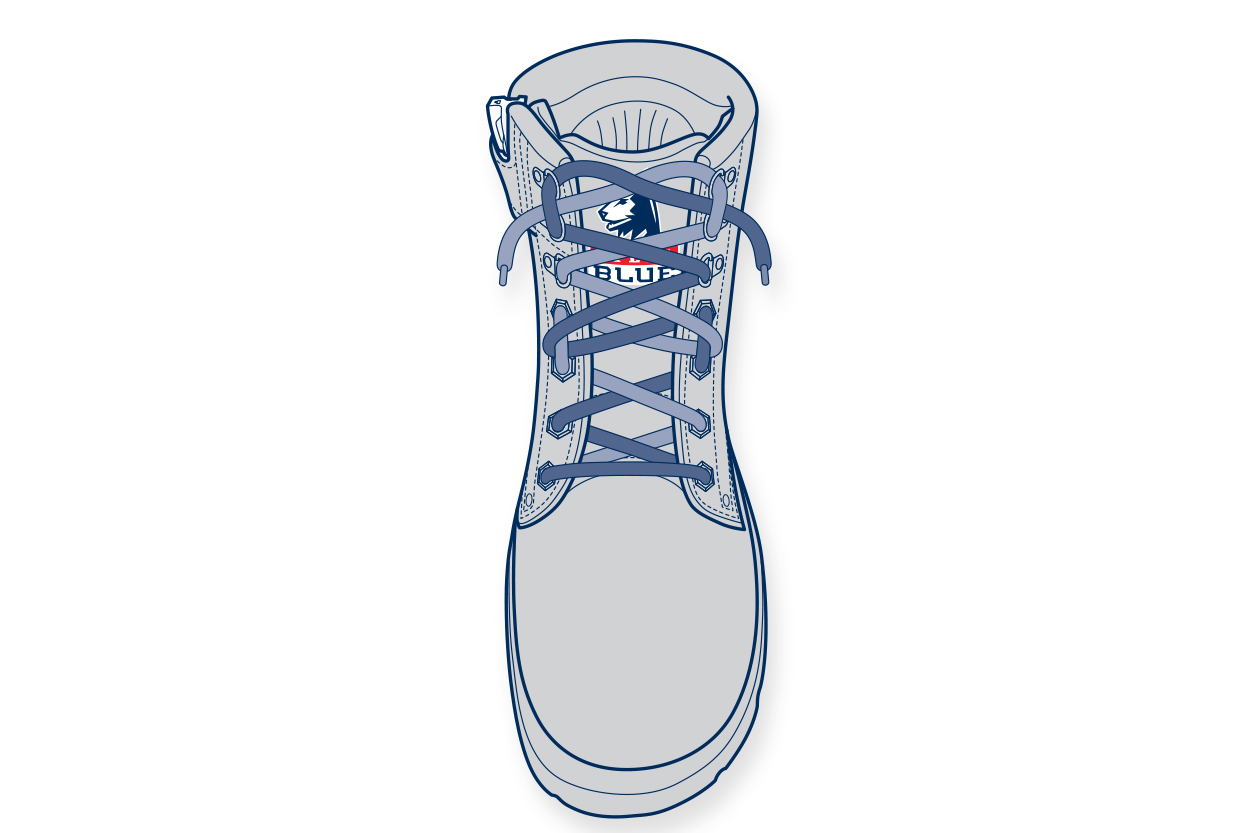 LT6. 11910-Steelblue-Lacing-Guide-narrow-instep_logo