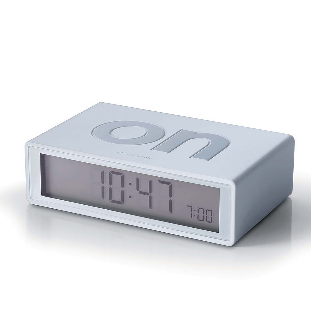 Top3 by design lexon lexon flip clock white White flip clock
